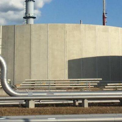 Actiefslibtank Waterzuivering CAB Botlek Rotterdam MST II